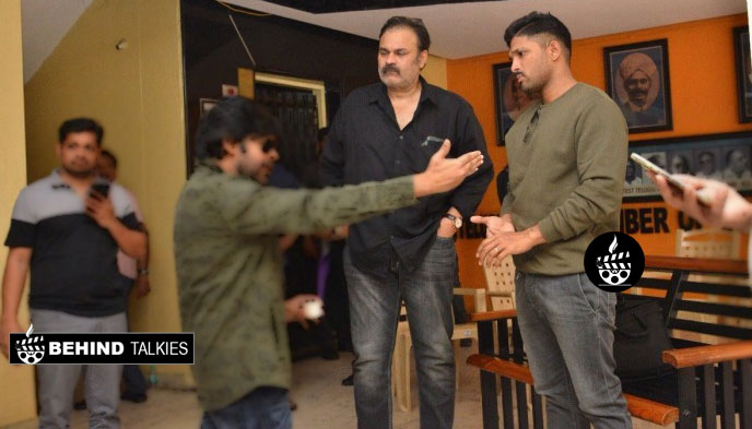 Allu Arjun With Nagendra Babu