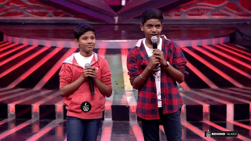 Srinivas and Nikhil in Duet Round