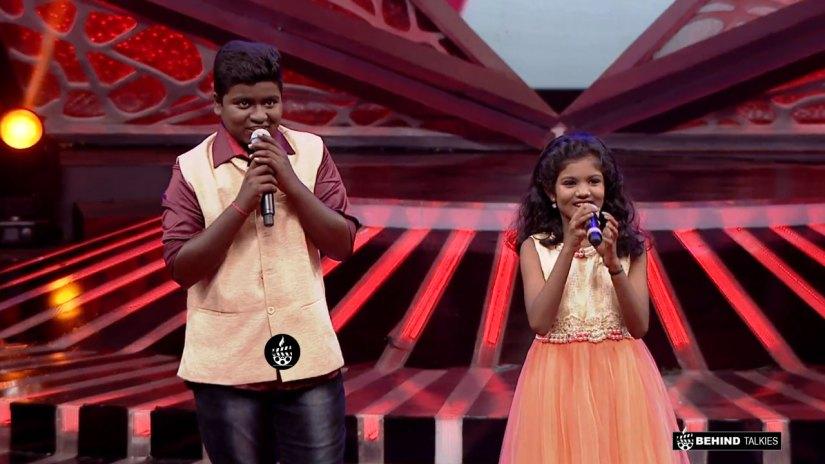 Vidhyarupini and Gunal in Duet round