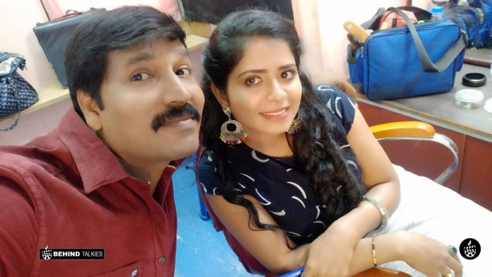 Madhumitha With her Husband Moses