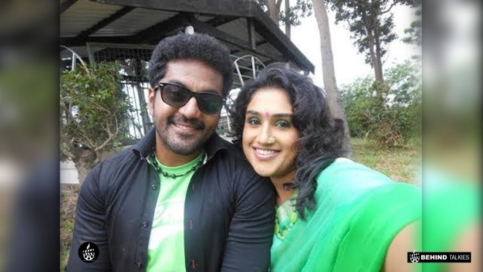 Vanitha with dance master robert