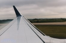 Seconds from touchdown at ATL.