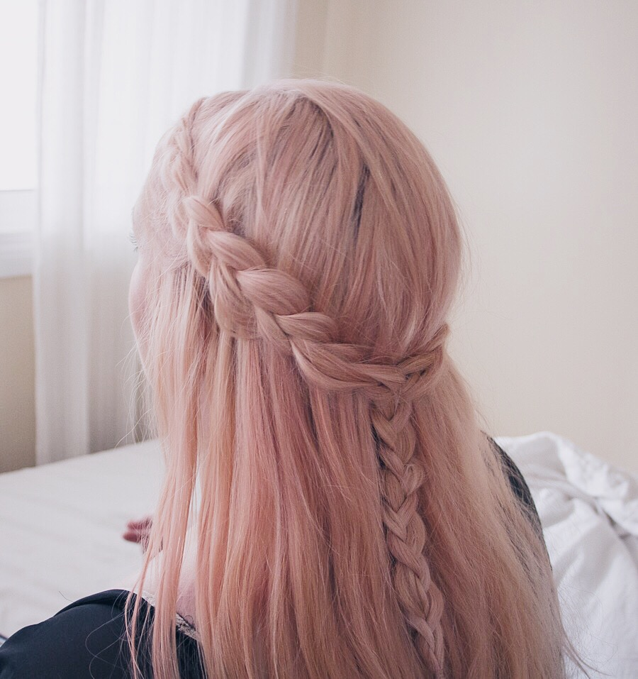 40 Rustic Pink Hair Color Ideas To Makes You Looks
