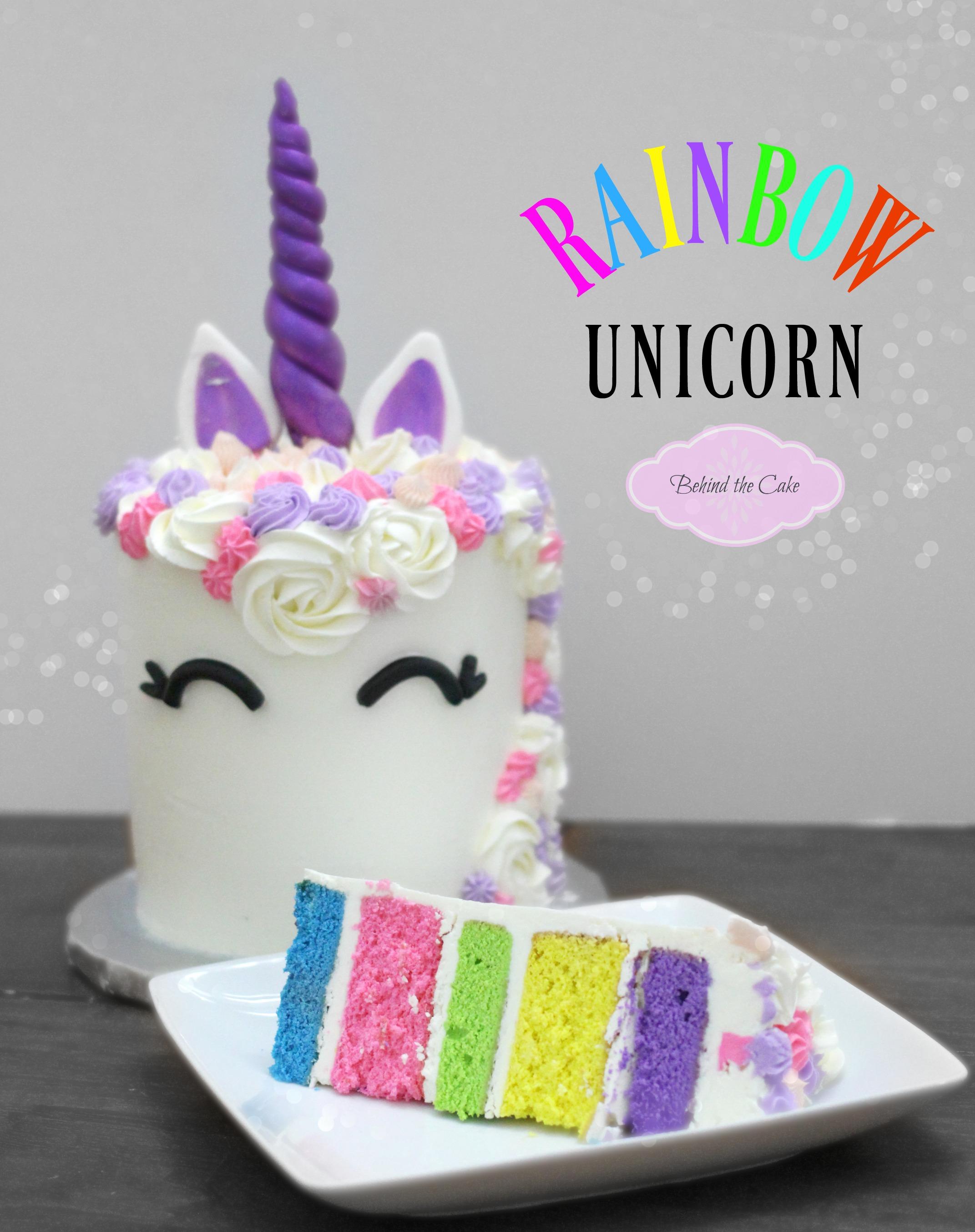 rainbow unicorn cake how to make a unicorn cake