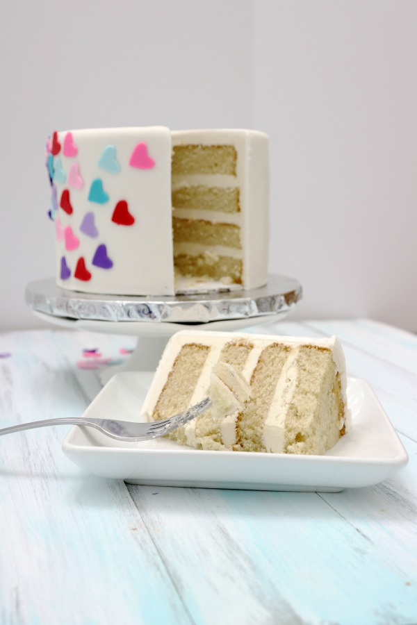Best Vanilla Cake Recipe from Scratch / Step by Step Video ...