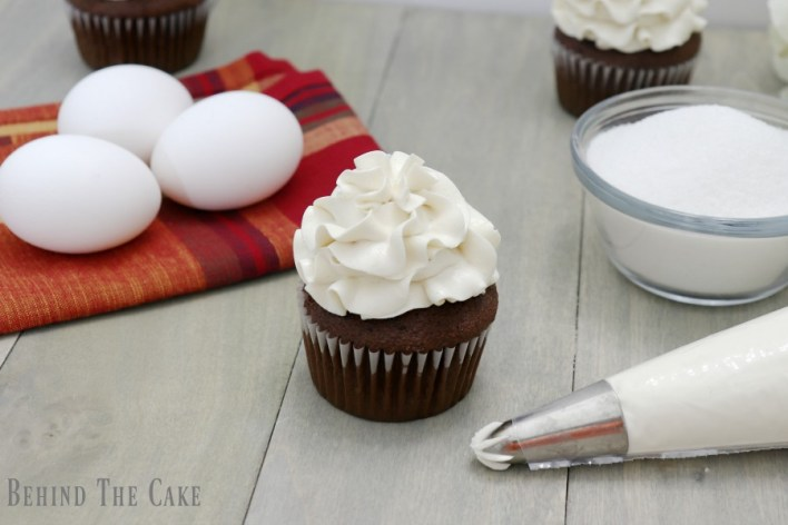 Behind the cake - Perfect Swiss meringue buttercream recipe from scratch.