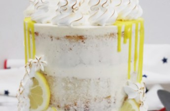 Lemon Cake Recipe from scratch using freshly squeezed lemon juice.