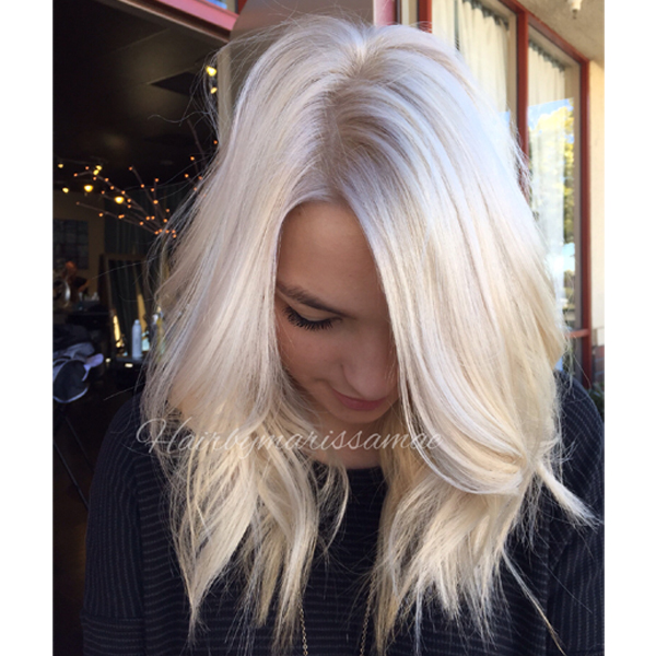 Vanilla Ice Hair Color