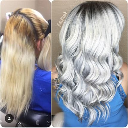 Stunning Silver White Behindthechair Com