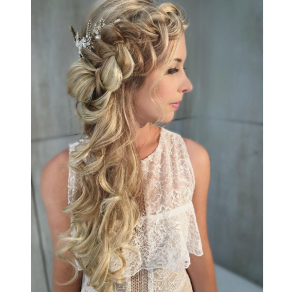 Watch Clip In Extension Application Infinity Dutch Fishtail Braids