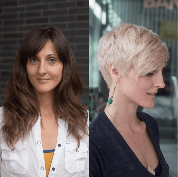 blonde pixie haircut transformation by alexanderscotthair
