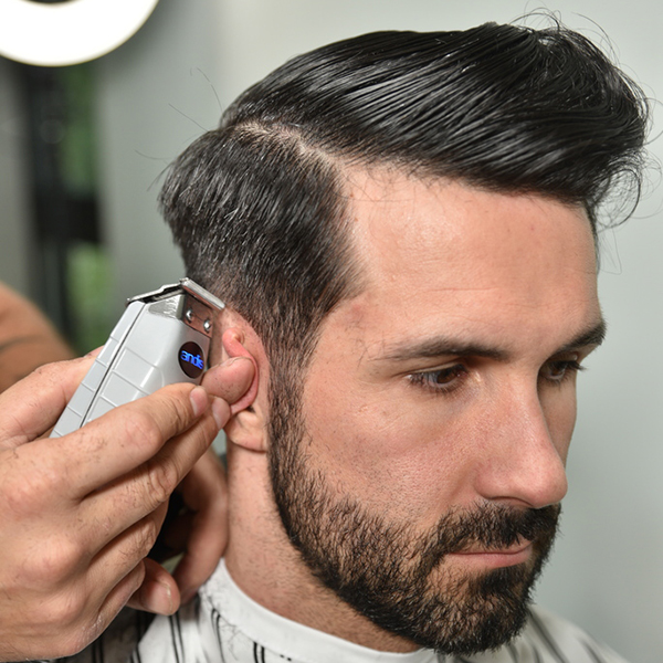matty conrad video how to men's classic cutting steps tips barbering techniques