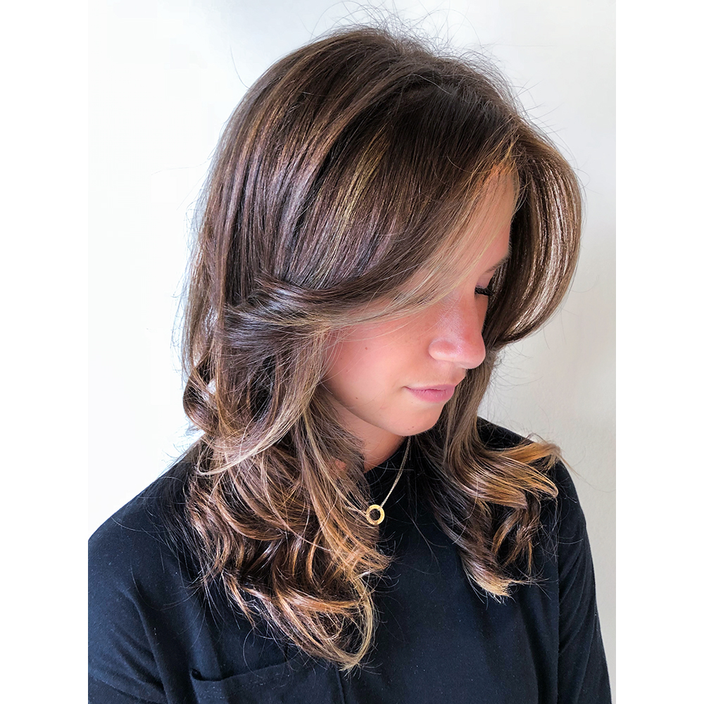 Power Piece Highlights Using The L'Oréal Professionnel Instant Highlights Kit