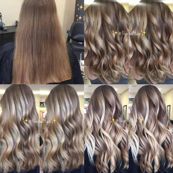 painited hair patricia nikole 4 secrets tips to achieving dimensional balayage hair painting foils