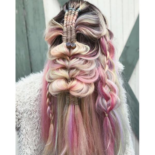 braids infinity braid braiding technique sexy hair liz cordis