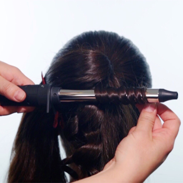 Sleek + Glam Ponytail How-To Step 4