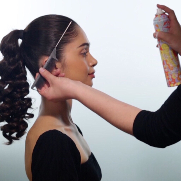 Sleek + Glam Ponytail How-To Step 5