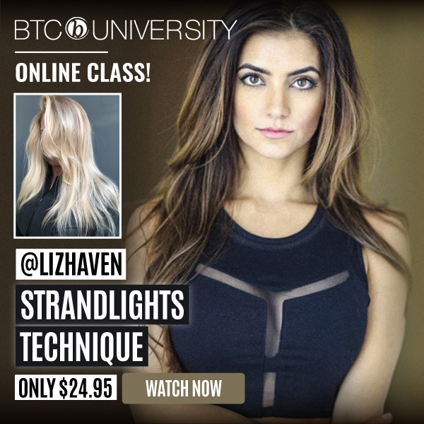 Learn the Strandlights color technique by Liz Haven at btcuniversity