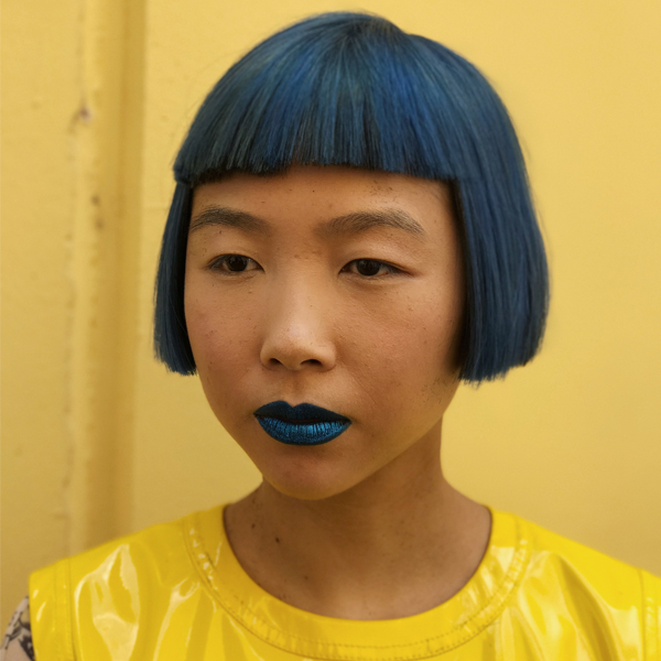 Color Formula Davines Tim Hartley Bob Haircut Blue Bob