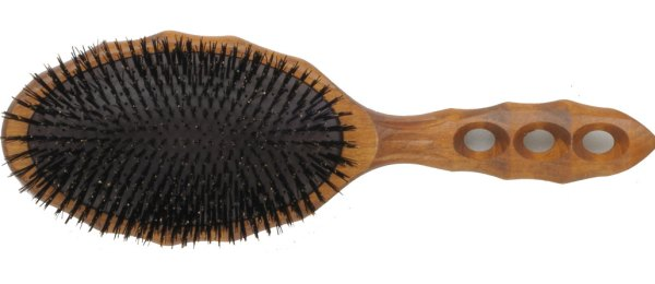Y.S. Park 120CS1 Tortoise Wooden Air Vent Brush