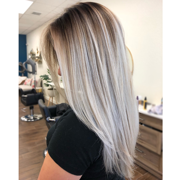 Hand Painted Blonde Blend Haircolor Formula Behindthechair Com