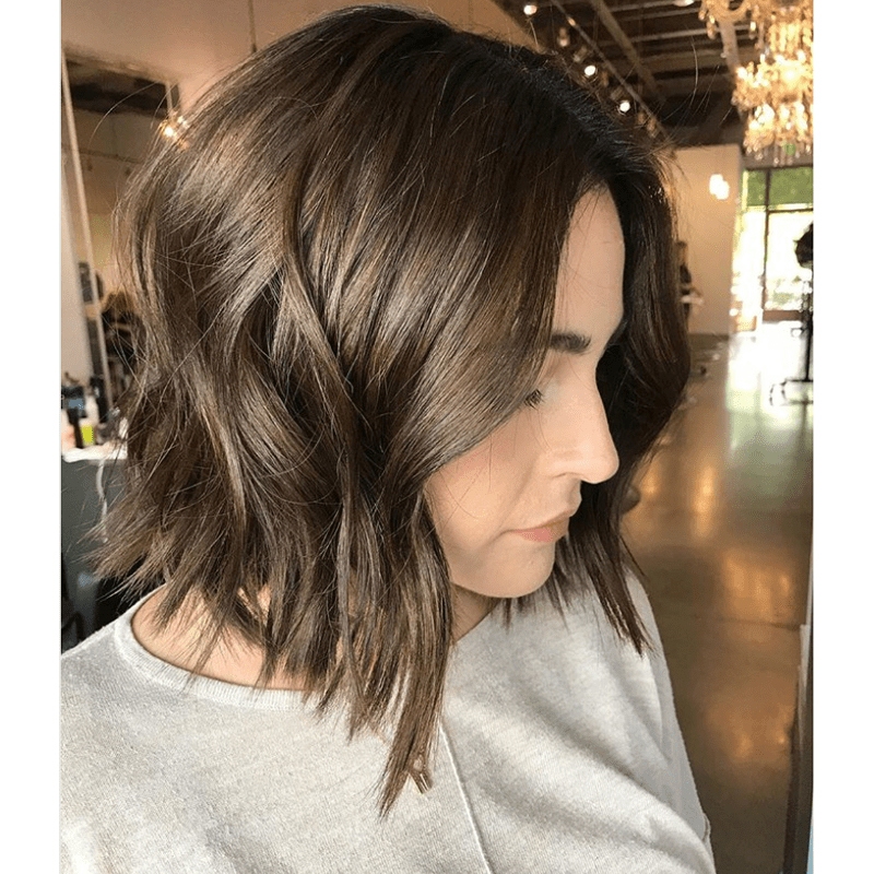 brunette color correction @brianacisneros seven haircare wella professionals color formulas application steps transformation