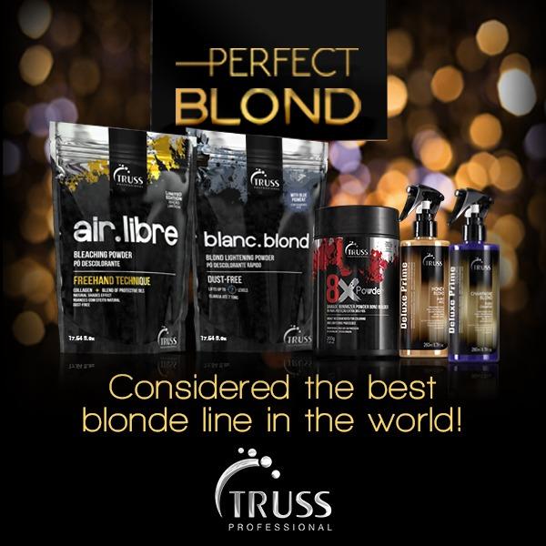truss perfect blond banner