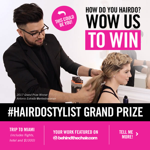 Hairdo Stylist Contest BTC banner 2018