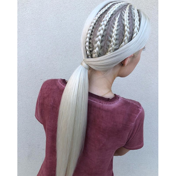 @antestrada holiday braid hairstyle inspiration techniques