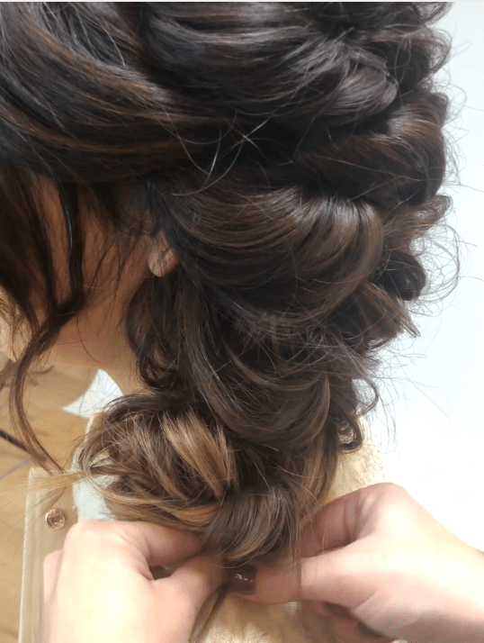 updo, hairstyle, hair extensions,