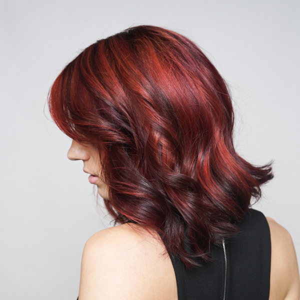 red ribbon haircolor technique revlon professional