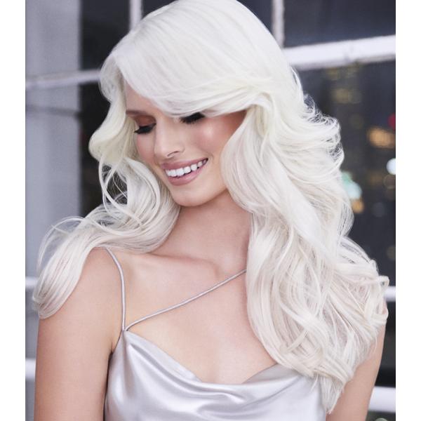 Joico Denis de Souza @denisdesouza Platinum Pearl How To Blonde Blonding Icy White Color Formula After