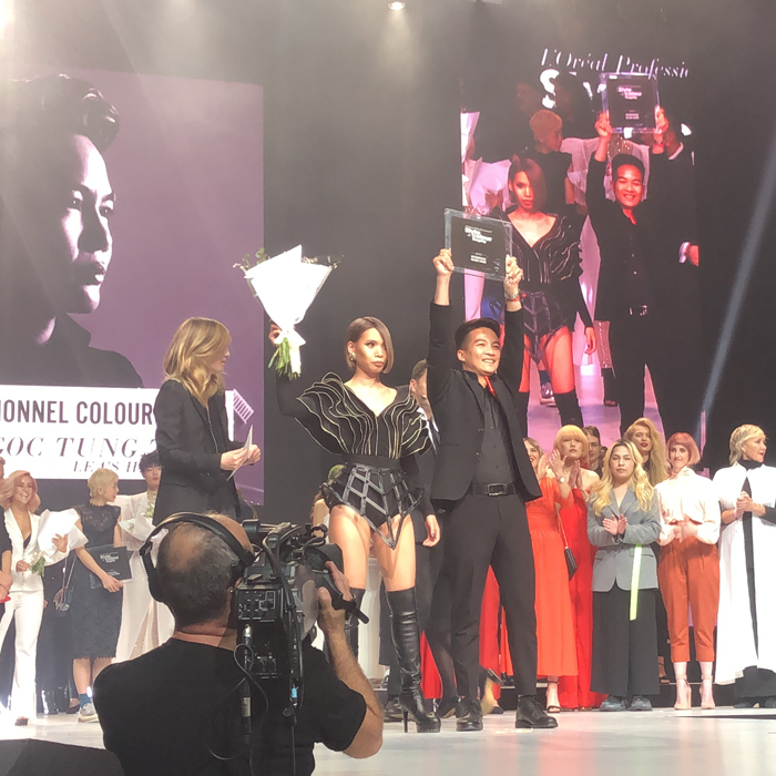 l'oreal professionnel style & Colour international hairdressing awards competition Paris