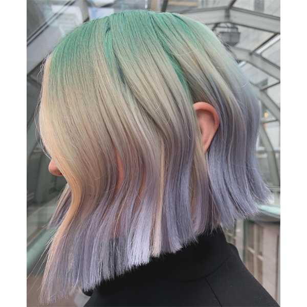 Megan Schipani @shmeggsandbaconn Your Complete Guide To Patel Haircolor Pastels Barely There Soft Shades Consultation Lightening Pre Toning Neutralizing Stubborn Pigments Choosing A Color At Home Care