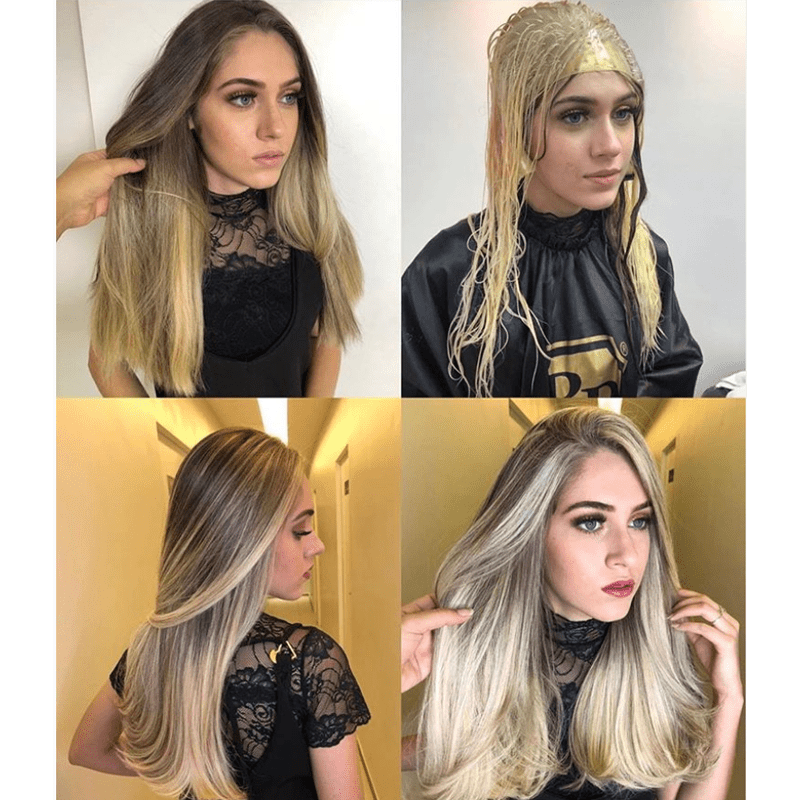 Blonding Bleach Lightening Cap Highlights Robson Peluquero Brazilian Blonding Techniques How To Videos