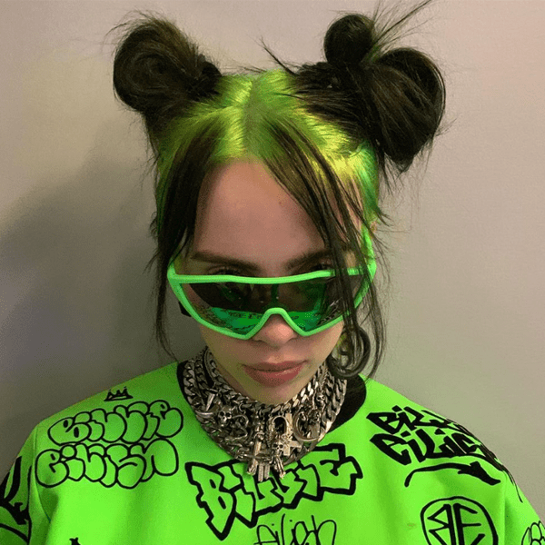 Halloween Costume Ideas 2019 Hair and Makeup Billie Eilish