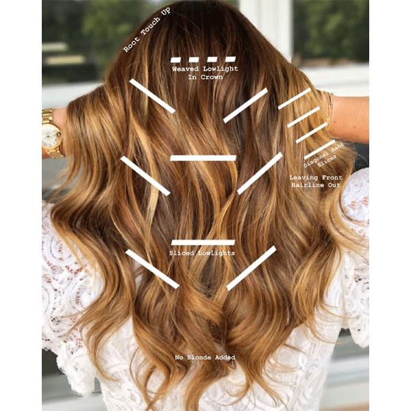 balayage, haircolor, redhead, blonde