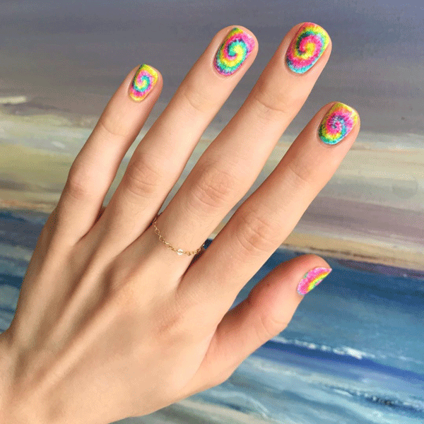 polishedyogi-tie-dye-nails