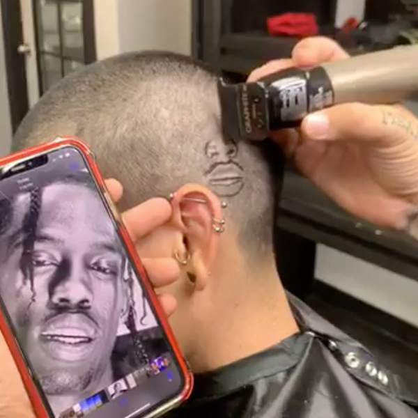 Barbers Clipper Cut Designs How To Cut Portraits With Clippers Trimmers @robtheoriginal