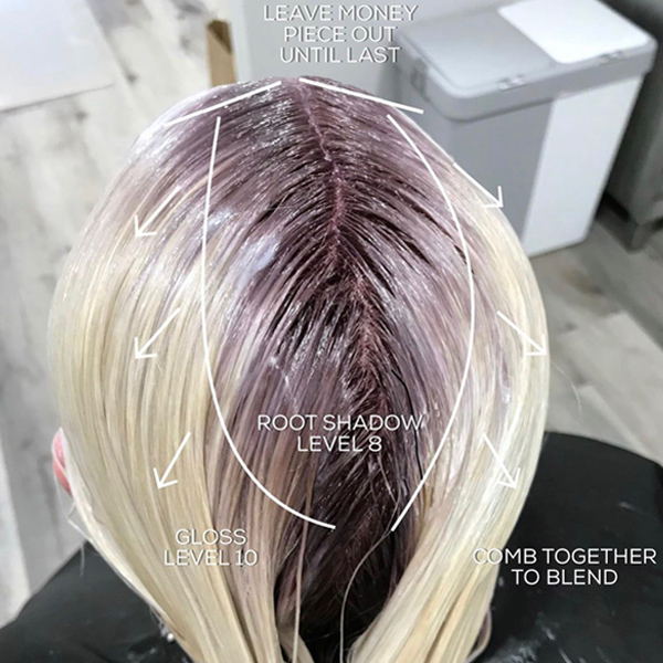 Platinum Bleach Outs Blonde Tips For Lightening Toning and Gloss @hairbychrissydanielle Processing Time