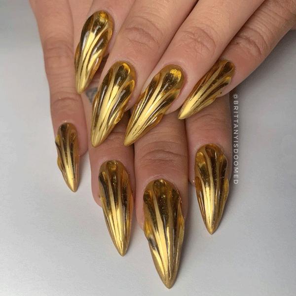 gold-nail-art-brittanyisdoomed
