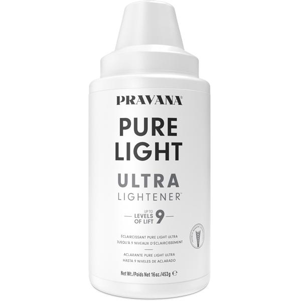 PRAVANA Pure Light Power Lightener Ultra Lightener New Packaging Redesign News