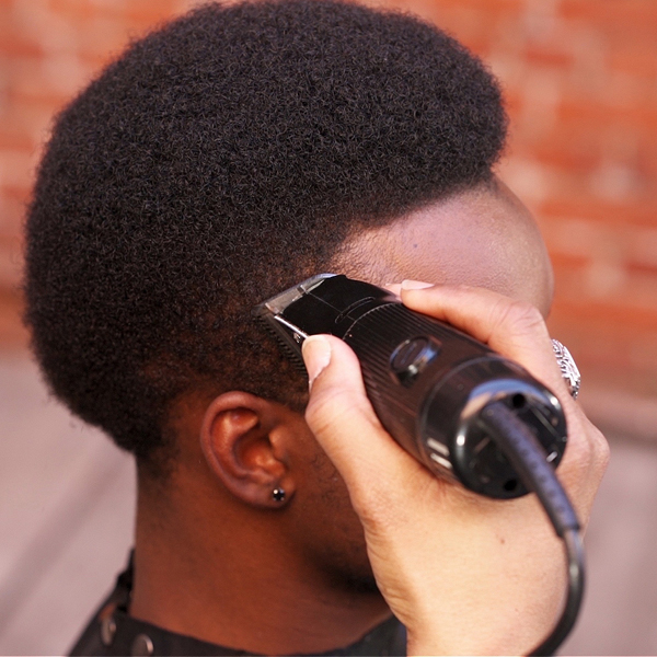 American Crew Flat Top Fade Men's Cutting How To Step By Step Clipper + Scissor Techniques