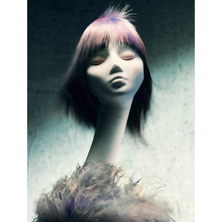 Sally Brooks British Hairdresser Of The Year 2020 Winning WTF Collection BHAs British Hairdressing Awards