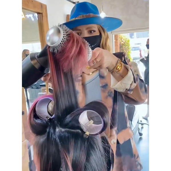 how to use velcro blowouts for volume and longer lasting results larisa love larisadoll