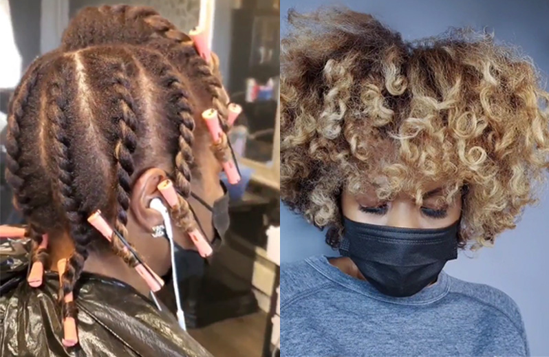 how to cut textured wavy curly and wavy hair dos and don'ts @haircolorkilla dry cutting tips tension or no tension