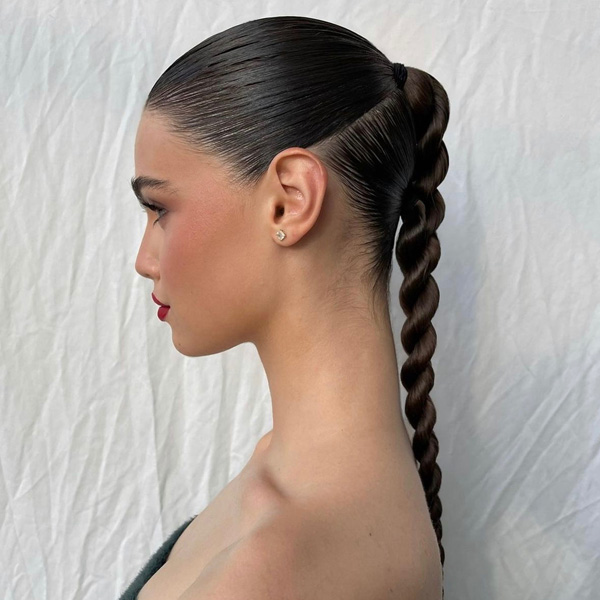 2021 hair trend rope twist ponytails braid and pigtails tips and tutorials