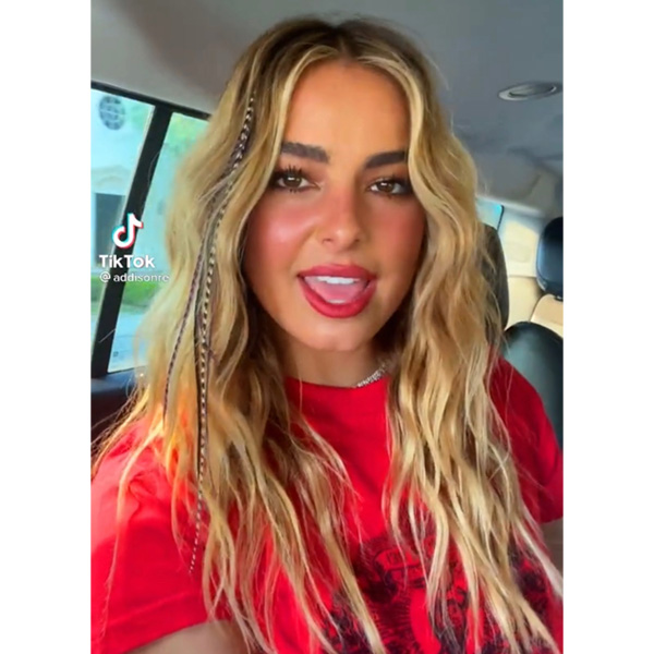 top styling hair trends summer 2021 addison rae feather extensions