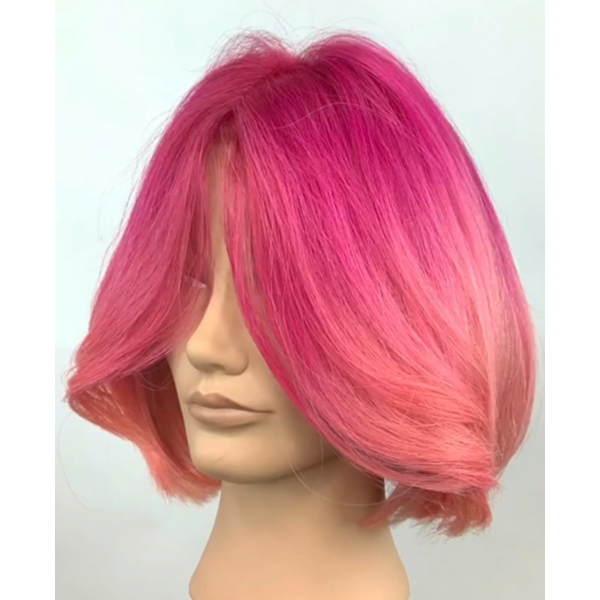 pink balayage hair painting tutorial wella color charm luis rodriguez root smudge how-to facebook live