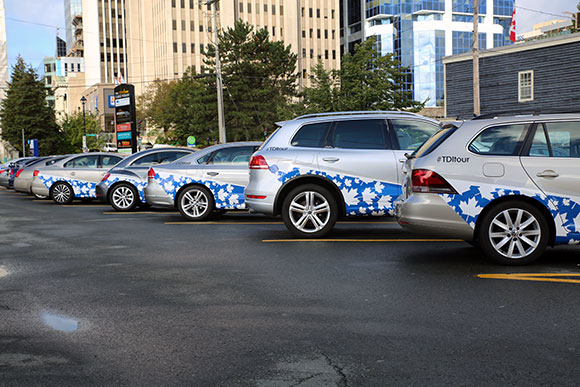 TDI-Cars-Lined-Up